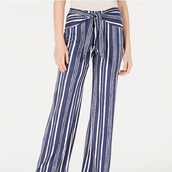 f5b10b3ed BCX Pants | Cute Stripe Waist Tie | Poshmark